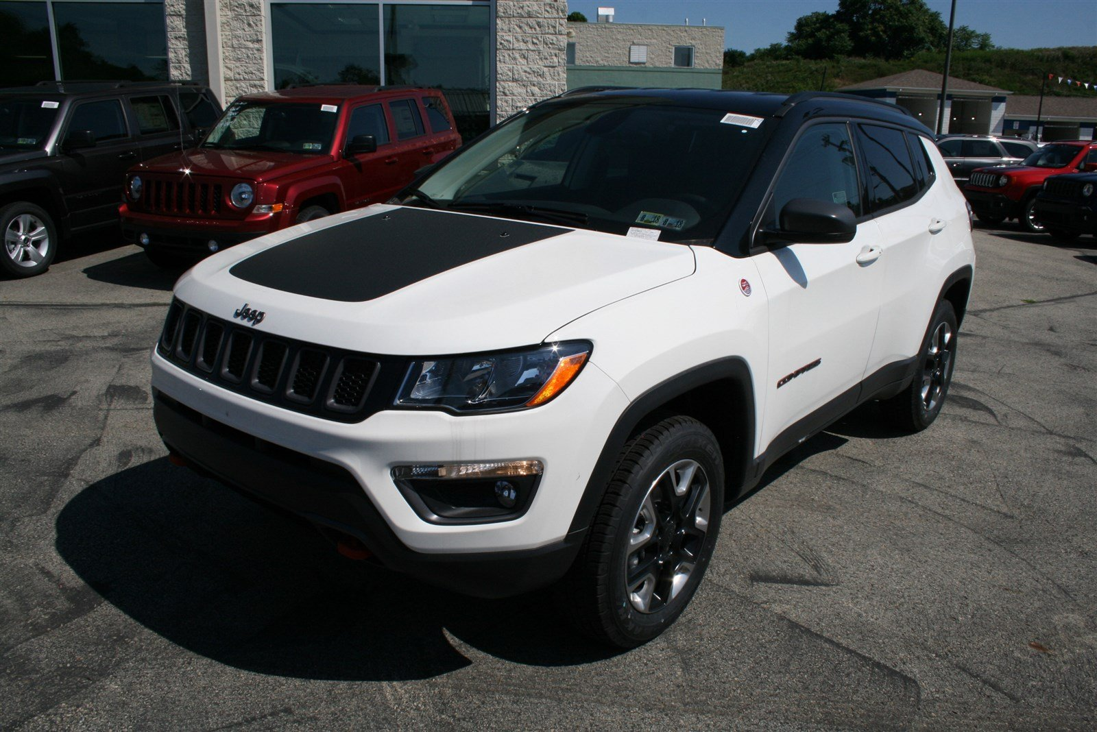 new 2017 jeep compass trailhawk sport utility in greensburg j21487 hillview motors. Black Bedroom Furniture Sets. Home Design Ideas